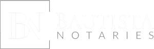 Bautista Notaries Logo